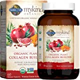 Garden of Life mykind Organic Plant Collagen Builder - Vegan Collagen Builder for Hair, Skin and Nail Health, 60 Tablets *Pac