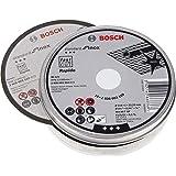 Bosch 2 608 603 254 - Disco de corte inox, 115x1 mm, 10 Unidades