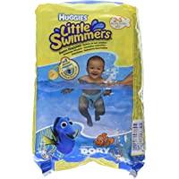 Huggies Little Swimmers 3-8kg Swim Nappies, 2-3 (Multicolour) - Pack of 12 Pieces