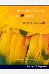 IB Mathematics SL in 80 pages: Revision Guide 2018 (English Edition) Format Kindle