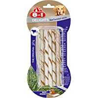 8in1 Delights Twisted Bœuf 10 Bâtonnets pour Chien