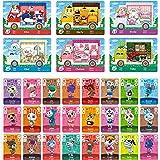 JIUA 30 Pz Sanrio NFC Amiibo Cards for Animal Crossing New Horizons RV Villager Mobili ACNH Game Scheda per Interruttore/Swit