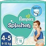 Pampers Splashers maat 4-5 (1 verpakking x 11 wegwerp-zwemluiers).