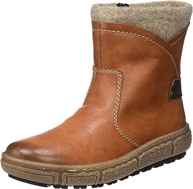 Rieker Z1693 01 Damen Warmfutter Stiefeletten Ankle Boots