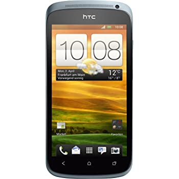 HTC ONE S Smartphone (10,9 cm (4,3 Zoll) AMOLED-Touchscreen, 8 Megapixel Kamera, Android OS) grau