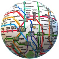Public transport maps offline - The whole world