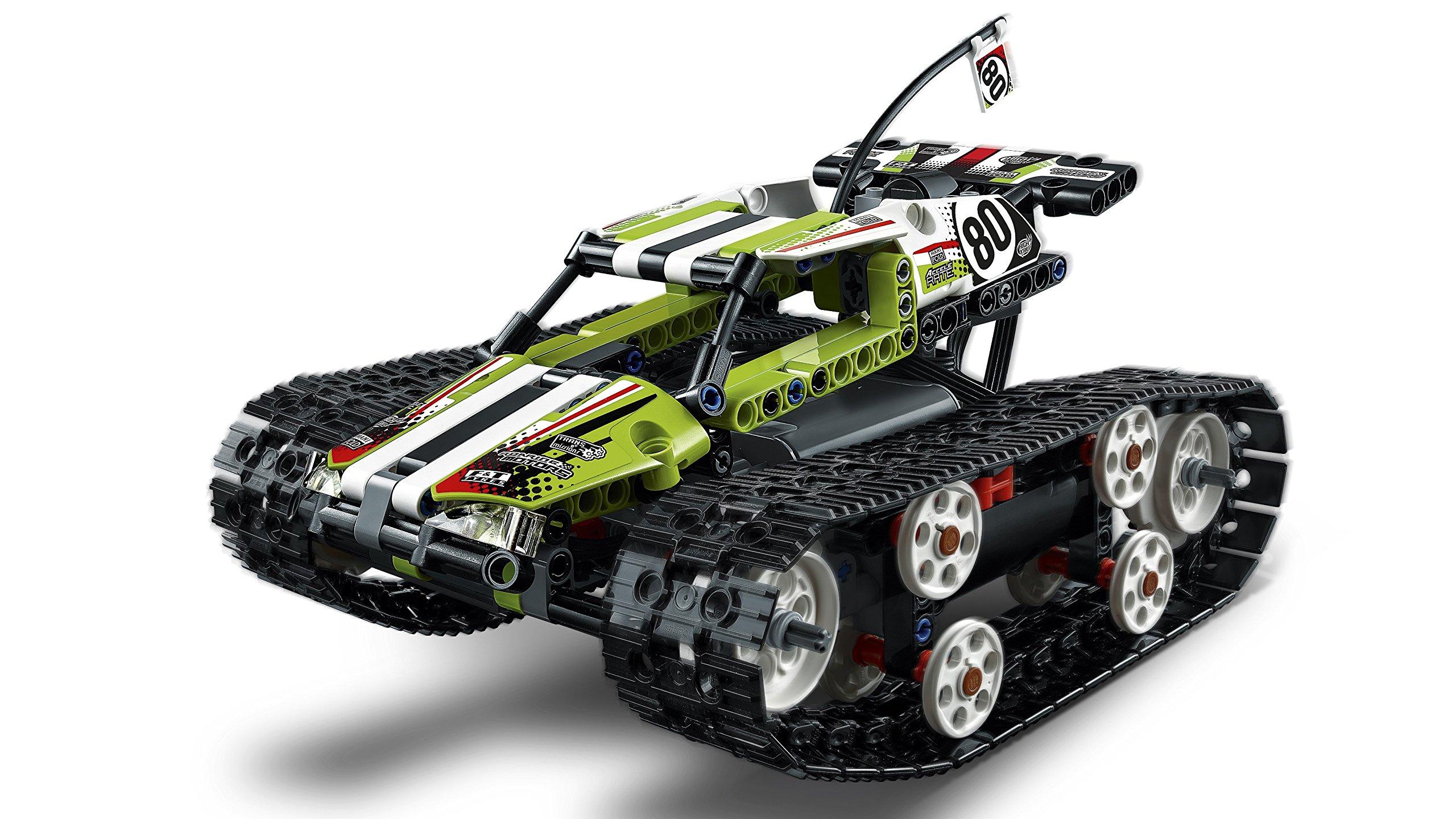 LEGO- Technic Cars Racer Cingolato Telecomandato Costruzioni Piccole Gioco Bambina, Multicolore, 42065 5 spesavip
