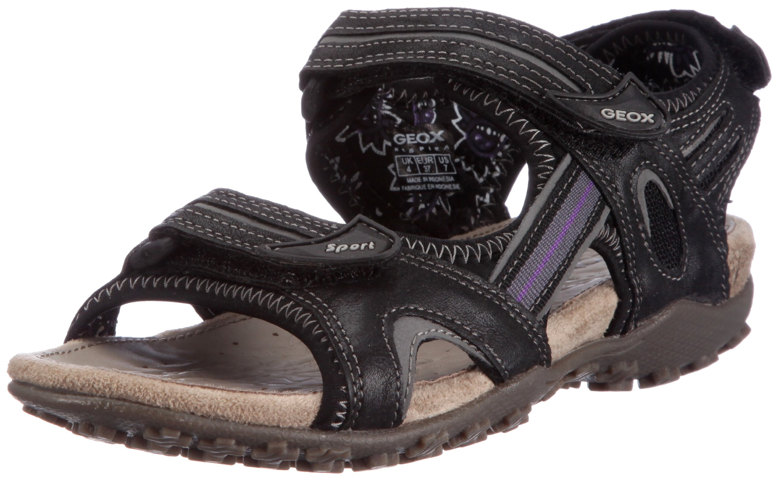Geox Donna Strel D1125C05415C9999 Damen Sandalen/Fashion-Sandalen 1