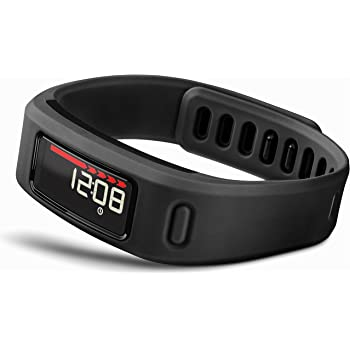 Garmin Vivofit Wireless Fitness Wrist Band and Activity Tracker Without Heart Rate Monitor, Black, One Size