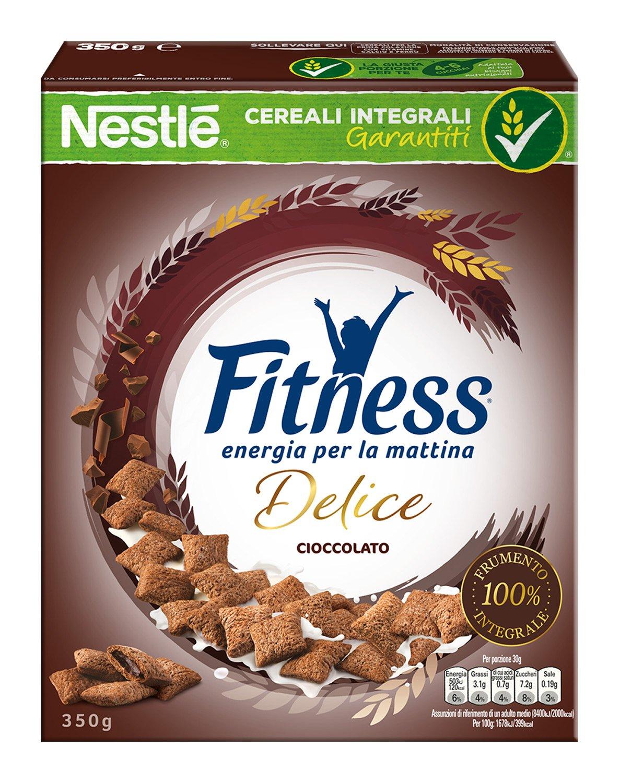 Fitness Delice Cioccolato Cereali Croccanti con Cuore Morbido al Cioccolato, 350 g 1 spesavip