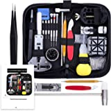 Vastar 151 PCS Kit Riparazione Orologi,Kit Attrezzi Orologiaio per Fai da te Orologi,per Orologio Riparazione Cinturino…