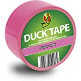 Duck Tape Color Tape in Funky Pink voor knutselen en decoreren 48 mm x 9,1 m