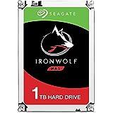 Seagate IronWolf 1 TB, ST1000VN002, disque dur interne, 8,9 cm (3,5 Zoll), 64 MB Cache, 5900 RPM SATA 6Gb/s