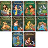 Short Stories From Panchatantra - Collection of Ten Books: Abridged Illustrated Stories For Children (With Morals)