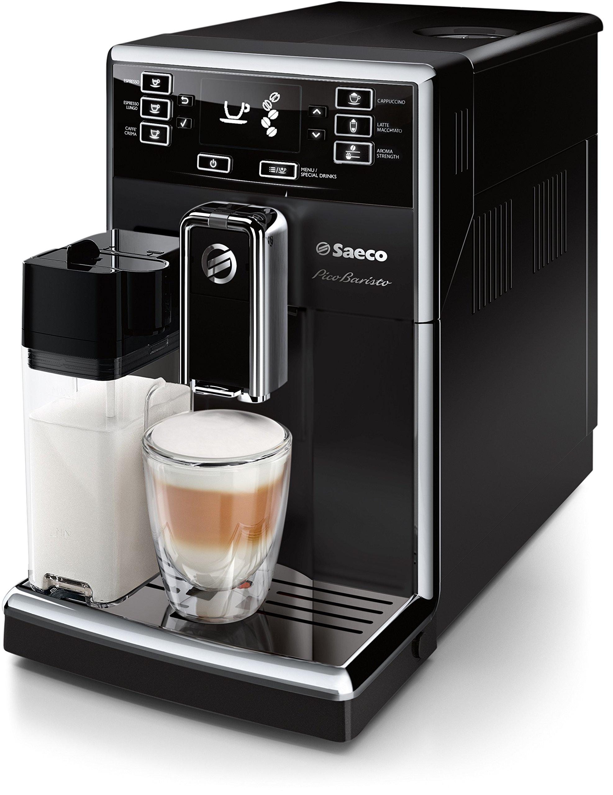 Saeco HD8925/01 PicoBaristo Kaffeevollautomat (Milchsystem) schwarz