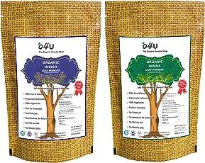 O4U Organic Henna and Indigo Powder (Set of 2)