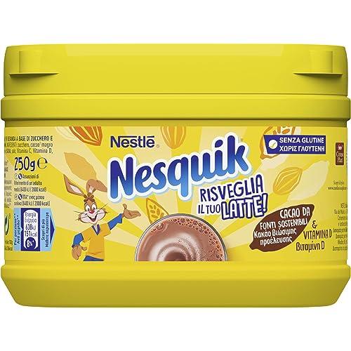 Nesquik Cacao Solubile per Latte Barattolo - 3 pezzi da 250 g [750 g]