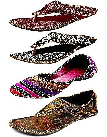 2e08ea869c5a2 Womens Ethnic Footwear: Buy Womens Ethnic Footwear Online at Best ...