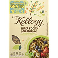 Kellogg's WKK Super Food Granola Semi di zucca e Chia - Pacco da 5 x 300 g