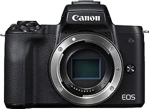 Canon EOS M50 Appareil Photo Hybride  Boitier Nu  Noir