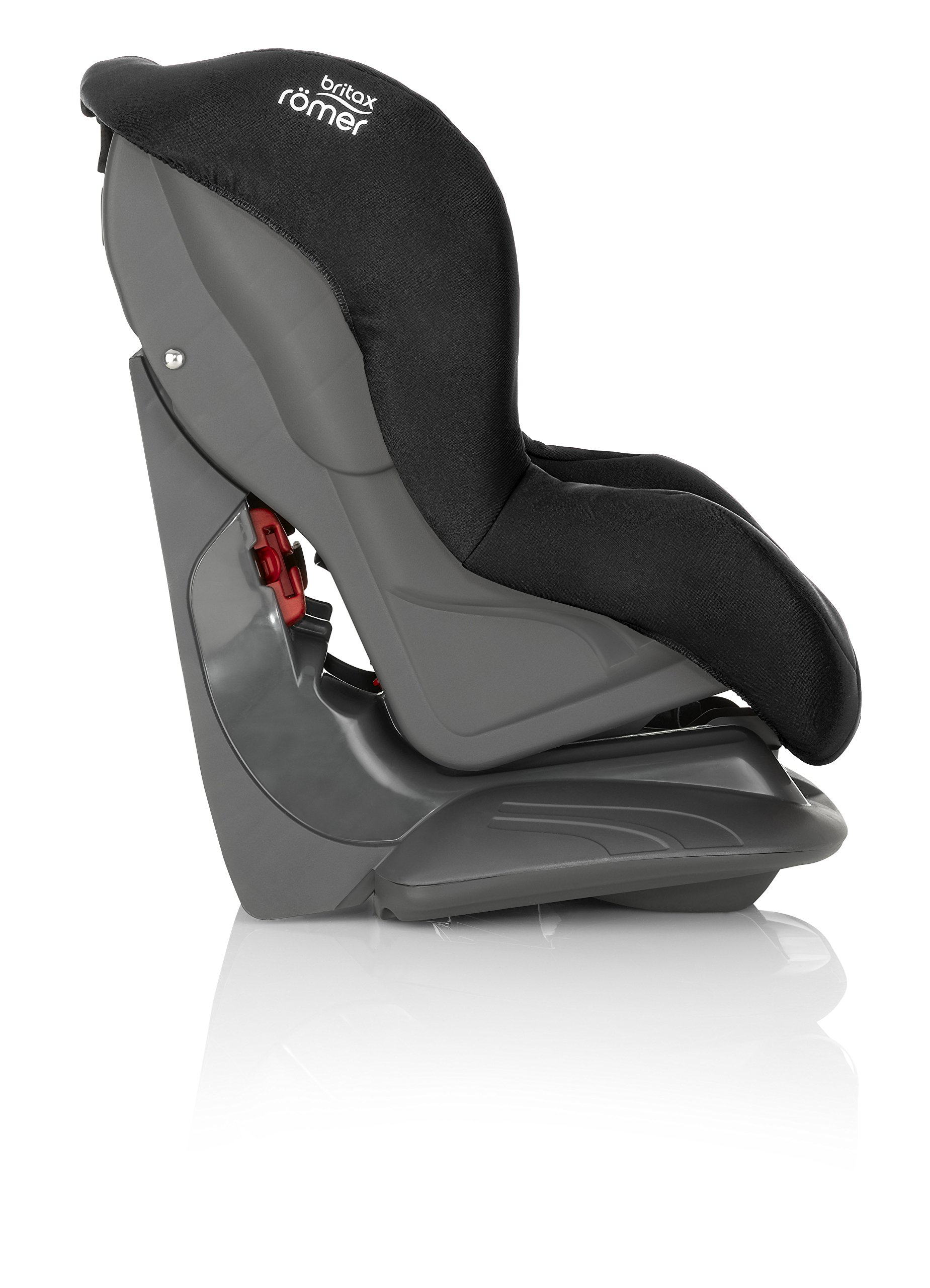 Britax Römer ECLIPSE Group 1 (9-18kg) Car Seat - Cosmos Black Britax Simple installation with a 3-point or 2-point seat belt Superior protection - side impact protection, performance chest pads and pitch control system TUV certified for aircraft travel 5