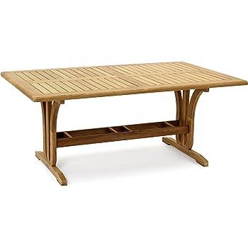 Garvida Großer Tisch Palazzo, Gartentisch In Natur, Esstisch Aus FSC  Teakholz Teak, Tisch