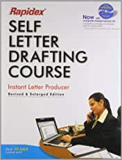 Set-Rapidex Self Letter Drafting Course (RX)