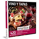 Smartbox - Caja Regalo Vino y Tapas - Idea de Regalo Vino - Visita a Bodega con cata y obsequio o menú de Tapas para 2 Person
