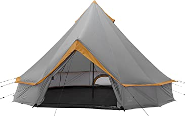 Grand Canyon Indiana - Rund-/ Pyramidenzelt, Tipi, 8 Personen, für Gruppen, Camping, Outdoor, Glamping, in verschiedenen farben, Ø 400 cm