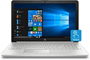 HP 15 Core i3 7th Gen 15.6-inch Touchscreen Laptop (4GB/1TB HDD/Windows 10/MS Office/Natural Silver/2.04 kg), 15-ds0043tu
