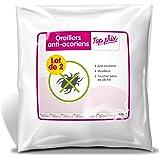 Sweetnight - Lot de 2 Oreillers | 60x60 cm | Set Anti Acariens | Doux et Moelleux | 100% Microfibre