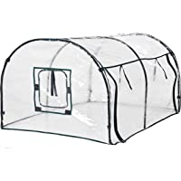 Cheerful Bargains 120cm Tunnel Greenhouse Hothouse For Growing Tomatoes & Vegetables 4ft With Floor Pegs