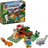 LEGO 21162 Minecraft Aventures dans la taïga - Inclut un squelette, un loup, un renard et le personnage Steve de…
