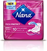 Nana Ultra Normal pads with wings Pack of 10