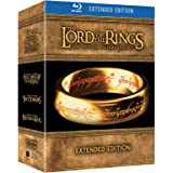 The Lord of the Rings - The Motion Picture Trilogy, Extended Edition (6 Blu-Ray+9 DVD) [Italia] [Blu-ray]