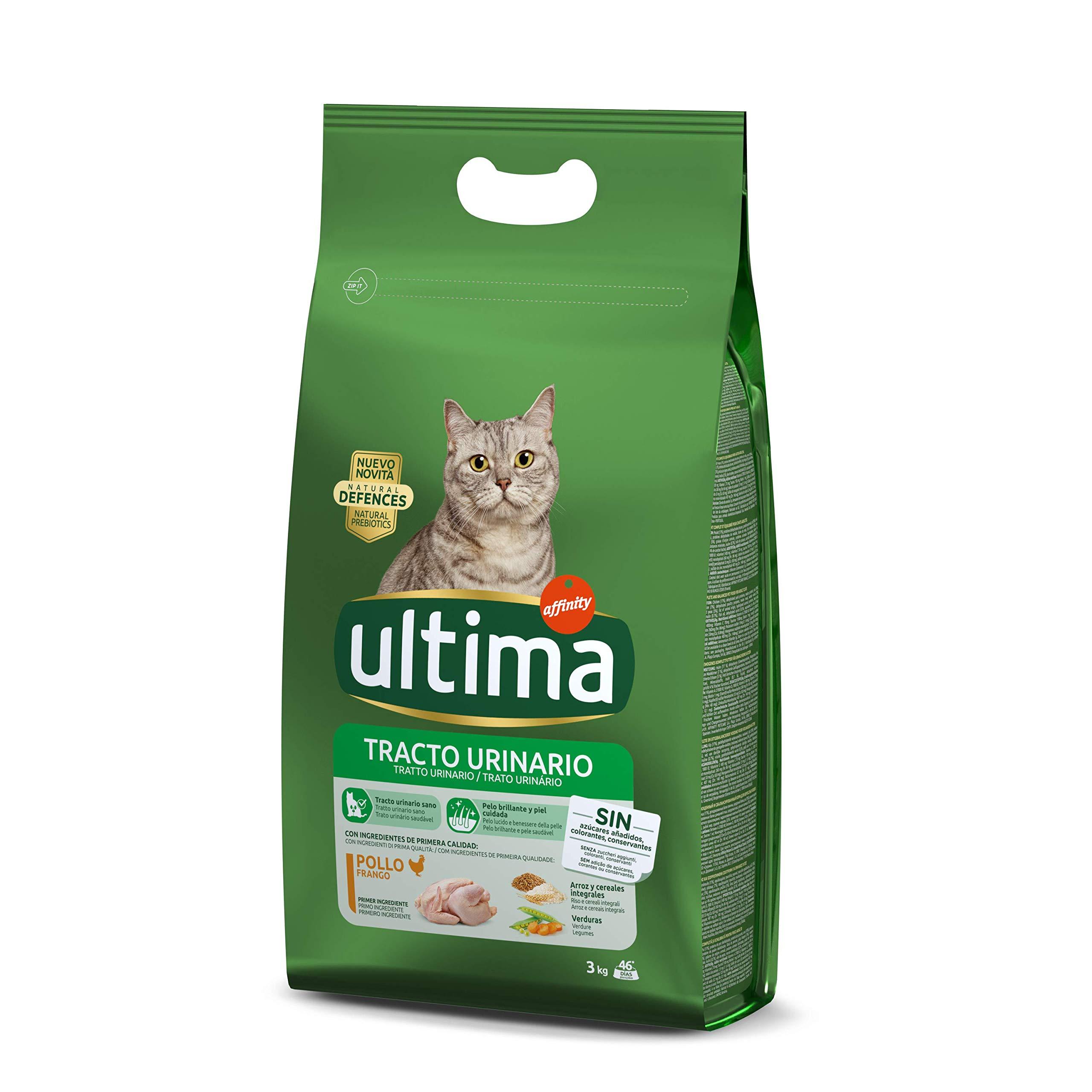 Ultima – Alimento para Gatos, Control Tracto Urinario, Bolsa 800 g