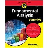 Fundamental Analysis For Dummies, 2nd Edition