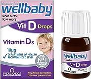 Vitabiotics Wellbaby Vitamin D Drops, 30 Ml