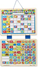 Melissa and Doug Magnetic Responsibility Chart, Multi Color