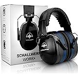 SCHALLWERK ® Work+ cuffie antirumore – Cuffie insonorizzanti regolabili – Attenua i rumori e protegge l'udito – Ideale sul la
