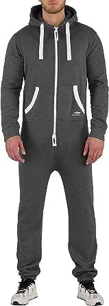 Finchman Men's Jumpsuit Jogger Jogging Suit Tracksuit Overall