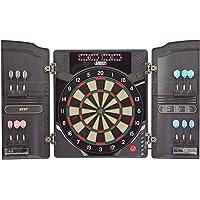 Best Sporting elektronische Dartscheibe Oxford 2.0, LED Dartboard Kabinett mit 12 Dartpfeilen, Ersatzsspitzen und…