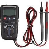 AmazonCommercial Multimètre numérique compact 2000 points, NCV (tension sans contact), lampe torche, CAT IV 600V