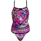 Funkita Ladies Skull Swim Gothic Multicoloured One Piece Swimsuit