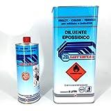 DILUENTE SOLVENTE EPOSSIDICO FONDO FINITURA LUCIDO OPACO Auto Moto 1-5-25 LT (1 Litro)