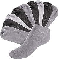 Footstar SNEAK IT! Socquettes Unisexes pour vous et lui - Tailles 35-50 - Assortiment de Couleurs Tendance - 10 paires