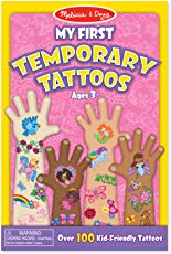 Melissa & Doug My First Temporary Tattoos, Multi Color