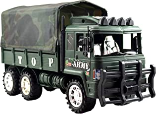 Lukas Military Truck, Push and Go Toy for Kids, Military Vehicle, Military Toy for Kids, Army Truck Toys for Kids