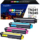 GPC Image TN241 TN245 Cartucce Toner Compatibili per Brother TN-241 TN-245 Brother MFC-9140CDN HL-3140CW DCP-9020CDW MFC-9340