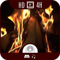 Kaminfeuer HD Deluxe Edition [4 Stunden Video + 3 Stunden Klassik, Akustik-Gitarre, Piano Musik]